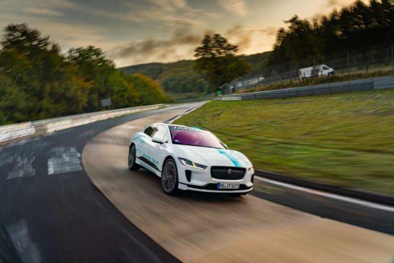 Jaguar I-Pace, Nürburgring Nordschleife, Renntaxi